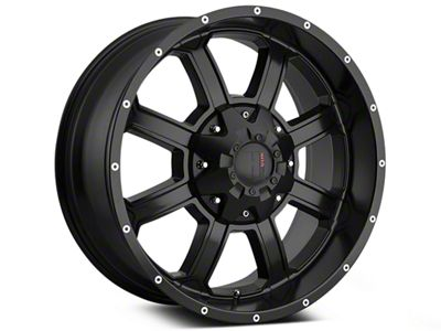 Havok Off-Road H101 Matte Black 6-Lug Wheel - 20x9 (07-18 Sierra 1500)
