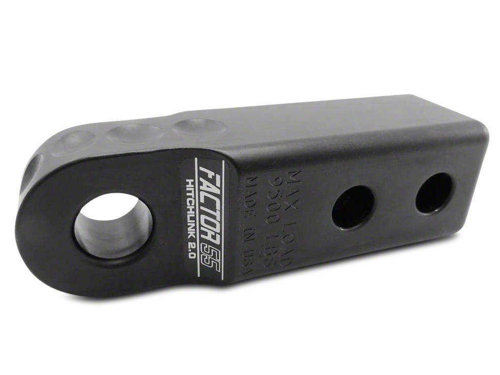 Factor 55 Aluminum HitchLink 2.0 - Black (07-18 Sierra 1500)