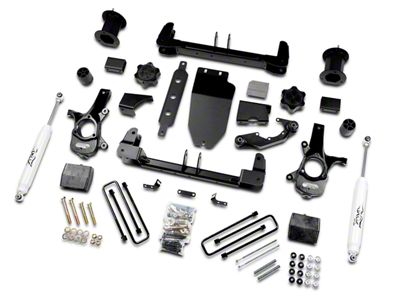 Zone Offroad 6.5 in. Suspension Lift Kit w/ Shocks (14-18 4WD Sierra 1500, Excluding Denali)