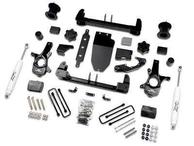 Zone Offroad 4.5 in. Suspension Lift Kit w/ Shocks (14-17 2WD Sierra 1500)