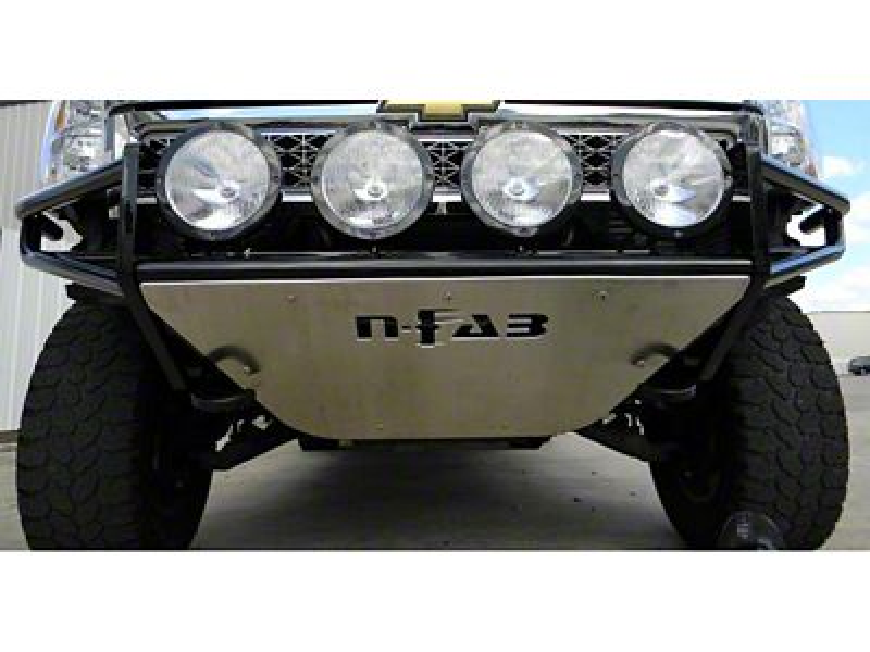 N-Fab R.S.P. Pre-Runner Front Bumper - Gloss Black (14-15 Sierra 1500)