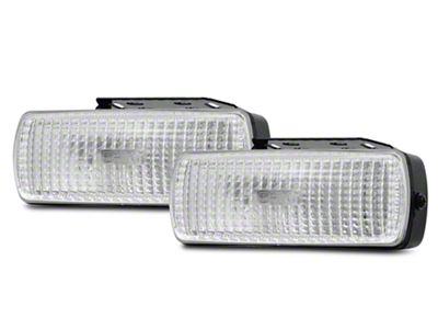 PIAA 1500 Series Clear Halogen Back-Up Lights - Flood Beam - Pair (07-18 Sierra 1500)