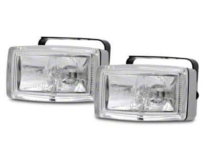 PIAA 2000 Series Clear Halogen Back-Up Lights - Flood Beam - Pair (07-18 Sierra 1500)