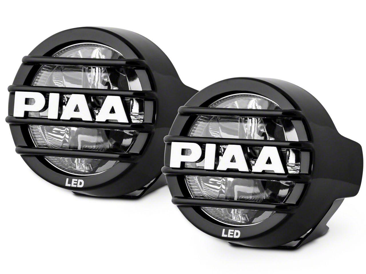 PIAA LP530 3.5 in. Round LED Lights - Fog Beam - Pair