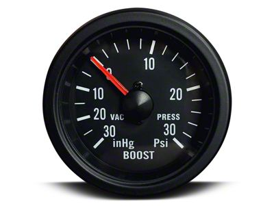 Prosport 30 PSI Boost/Vac Gauge - Mechanical (07-18 Sierra 1500)