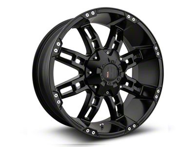 Havok Off-Road H103 Matte Black 6-Lug Wheel - 20x9 (07-18 Sierra 1500)