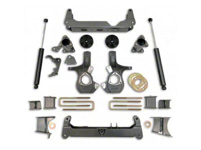 Max Trac MaxPro 7 in. Lift Kit w/ Shocks (14-18 4WD Sierra 1500, Excluding Denali)