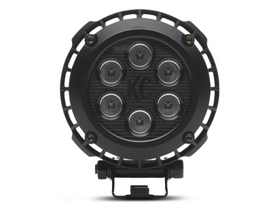 KC HiLiTES 4 in. LZR Round LED Lights - Driving Beam - Pair (07-17 All)