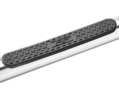 Putco Wheel-to-Wheel Boss Side Step Bars - Polished (14-18 Sierra 1500 Double Cab, Crew Cab)