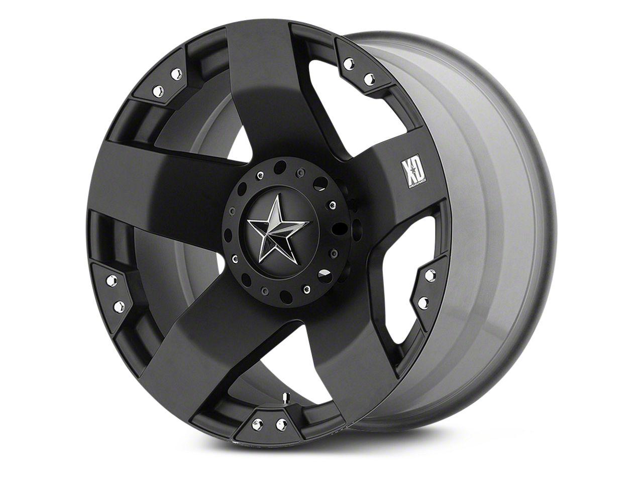 Rockstar XD775 Matte Black 6-Lug Wheel - 22x12 (07-18 Sierra 1500)