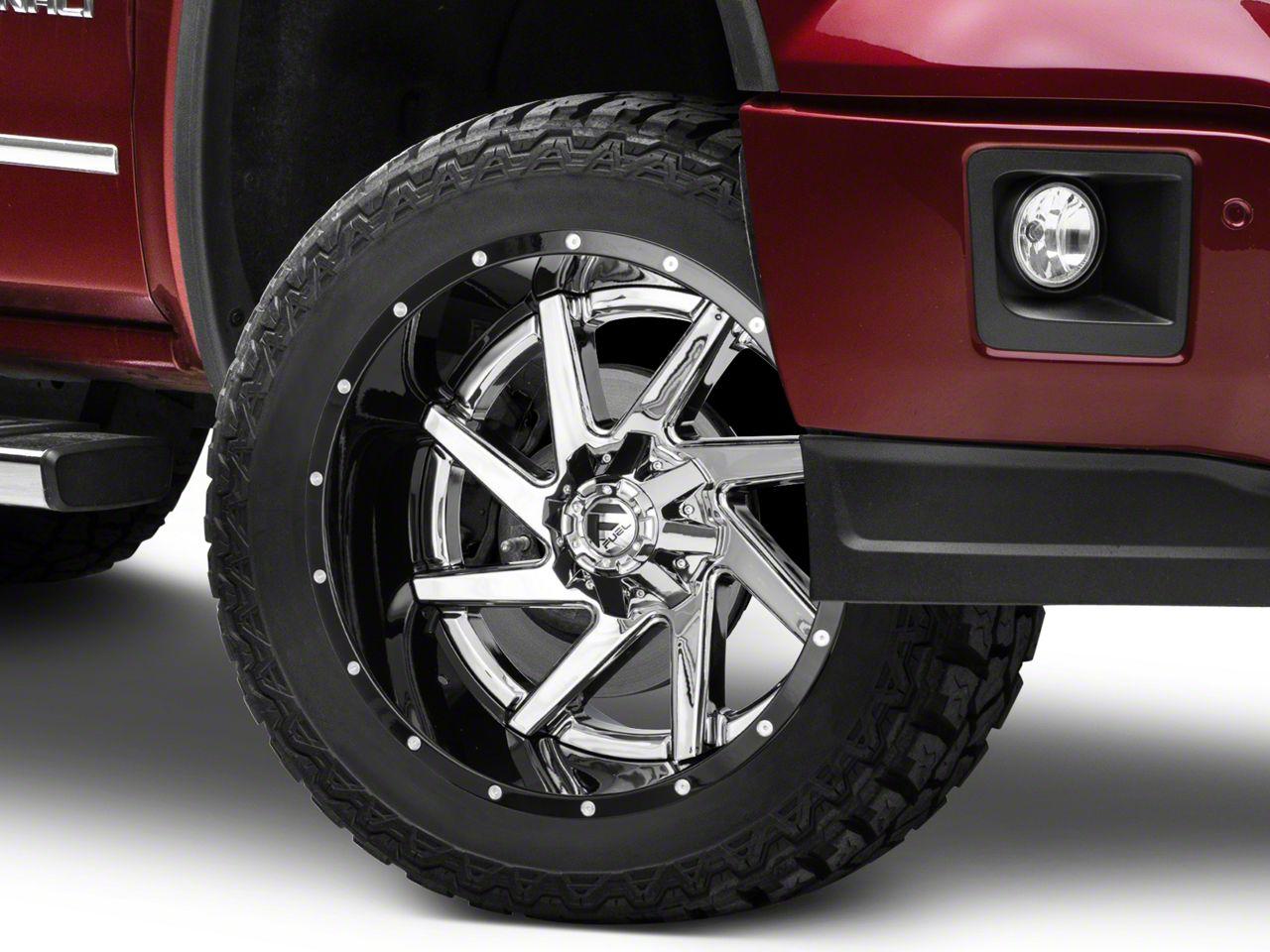 Fuel Wheels Renegade Chrome w/ Gloss Black Lip 6-Lug Wheel - 22x12 (07-18 Sierra 1500)