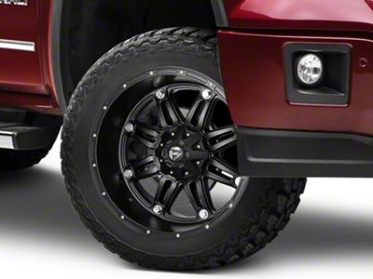Fuel Wheels Hostage Matte Black 6-Lug Wheel - 22x11 (07-18 Sierra 1500)