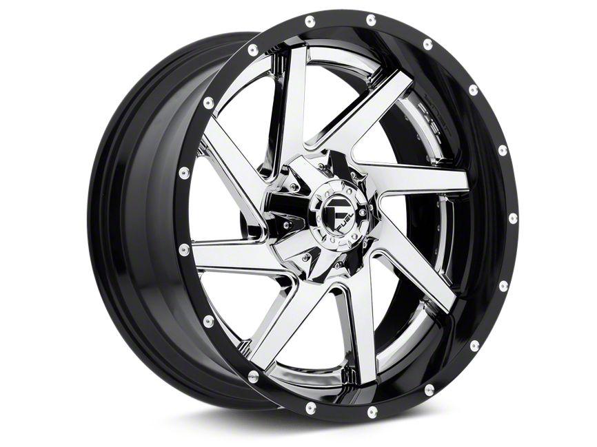 Fuel Wheels Renegade Chrome w/ Gloss Black Lip 6-Lug Wheel - 22x10 (07-18 Sierra 1500)