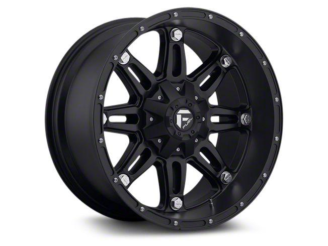 Fuel Wheels Hostage Matte Black 6-Lug Wheel - 22x9.5 (07-18 Sierra 1500)