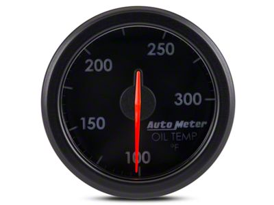 Auto Meter AirDrive Oil Temperature Gauge - Electrical (07-18 Sierra 1500)