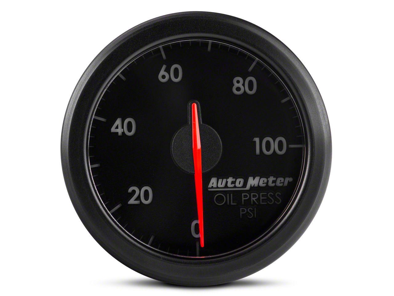 Auto Meter AirDrive Oil Pressure Gauge - Electrical (07-18 Sierra 1500)
