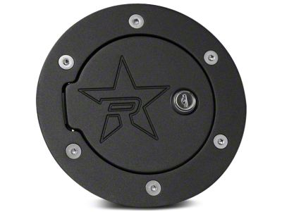 RBP RX-2 Series Locking Fuel Door - Polished (14-18 Sierra 1500)