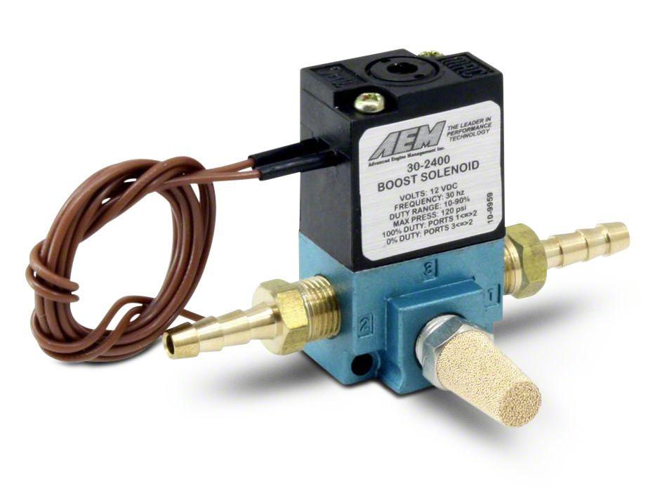 AEM Electronics Boost Control Solenoid Kit (07-18 Sierra 1500)
