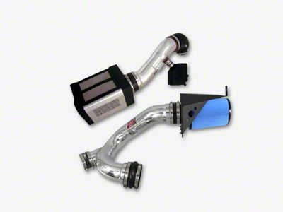 Injen Power-Flow Cold Air Intake - Wrinkle Black (14-18 5.3L Sierra 1500)