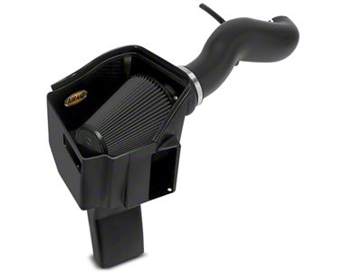 Airaid MXP Series Cold Air Intake w/ Black SynthaMax Dry Filter (11-13 6.0L Hybrid Sierra 1500 w/ Mechanical Cooling Fan)