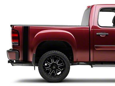 Black Rear Vertical Stripe (07-19 Sierra 1500)