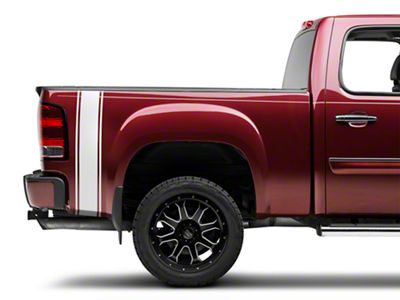 Silver Rear Vertical Stripe (07-19 Sierra 1500)