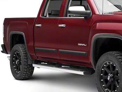 MMD Bolt-On Look Body Side Moldings - Matte Black (14-18 Sierra 1500 Double Cab, Crew Cab)