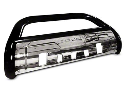 Black Horse Off Road 3.5 in. Savannah Oval Bull Bar - Black (07-18 Sierra 1500)
