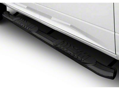 Black Horse Off Road 5 in. Extreme Side Step Bars - Black (14-18 Sierra 1500 Double Cab, Crew Cab)