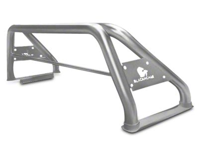 Black Horse Off Road Roll Bar - Stainless Steel (07-18 Sierra 1500)