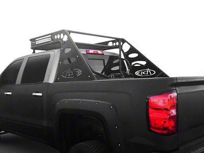 Addictive Desert Designs Stealth Half Over Cab Chase Rack (14-18 Sierra 1500)