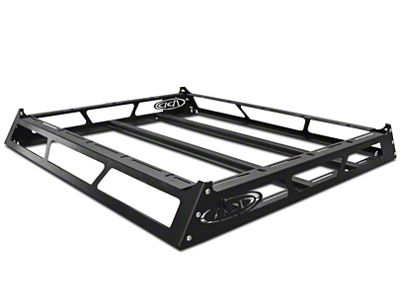 Addictive Desert Designs MaxRax Roof Rack - 55 in. x 50.25 in. x 5.25 in. (07-19 Sierra 1500 w/ Camper Shell)