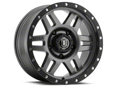ICON Vehicle Dynamics Six Speed Gunmetal 6-Lug Wheel - 17x8.5 (07-18 Sierra 1500)