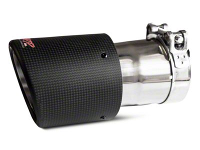 MBRP 4.5 in. Exhaust Tip - Carbon Fiber - 3 in. Connection (07-18 Sierra 1500)