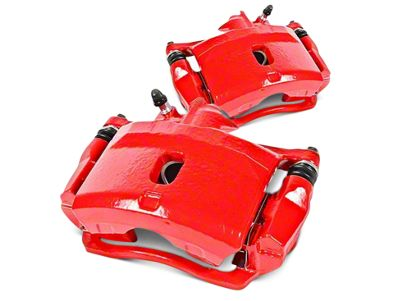 Power Stop Performance Front Brake Calipers - Red (07-18 Sierra 1500)