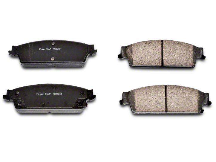 Power Stop Z16 Evolution Clean Ride Ceramic Brake Pads - Rear Pair (07-13 Sierra 1500 w/ Rear Disc Brakes)