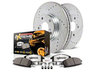 Power Stop Z36 Extreme Truck & Tow Brake Rotor & Pad Kit - Front & Rear (07-13 Sierra 1500 w/ Rear Disc Brakes)