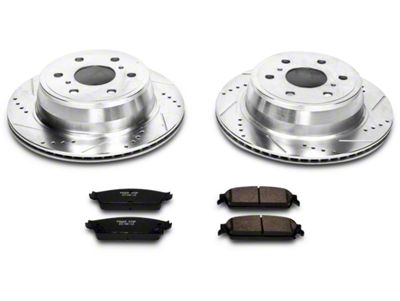 Power Stop Z23 Evolution Sport Brake Rotor & Pad Kit - Rear (07-13 Sierra 1500 w/ Rear Disc Brakes)