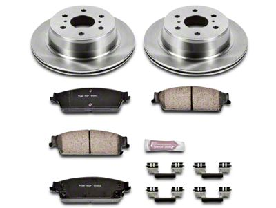 Power Stop OE Replacement Brake Rotor & Pad Kit - Rear (07-13 Sierra 1500 w/ Rear Disc Brakes)