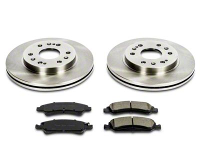 Power Stop OE Replacement Brake Rotor & Pad Kit - Front (07-18 Sierra 1500)