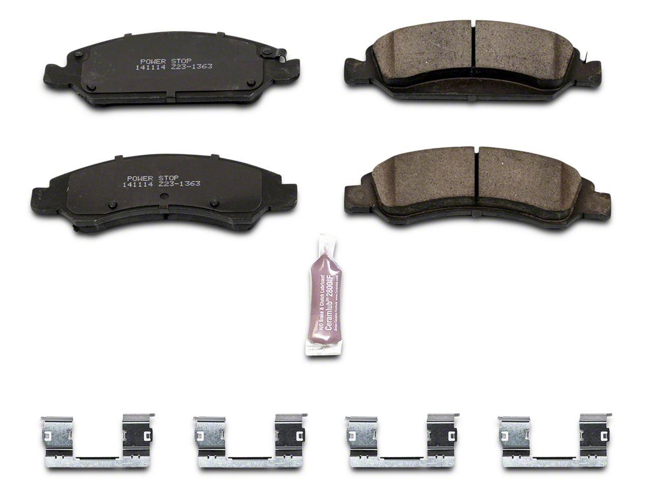 Power Stop Z23 Evolution Sport Ceramic Brake Pads - Front Pair (07-18 Sierra 1500)