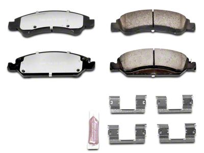 Power Stop Z36 Extreme Truck & Tow Carbon-Ceramic Brake Pads - Front Pair (07-18 Sierra 1500)