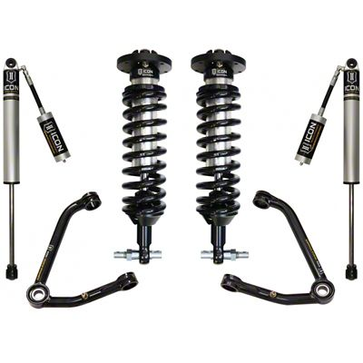 ICON Vehicle Dynamics 1-3 in. Suspension Lift System - Stage 2 (07-18 Sierra 1500, Excluding Denali)