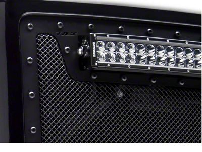 T-REX Stealth Metal Series Upper Grille Insert - Black (14-15 Sierra 1500)