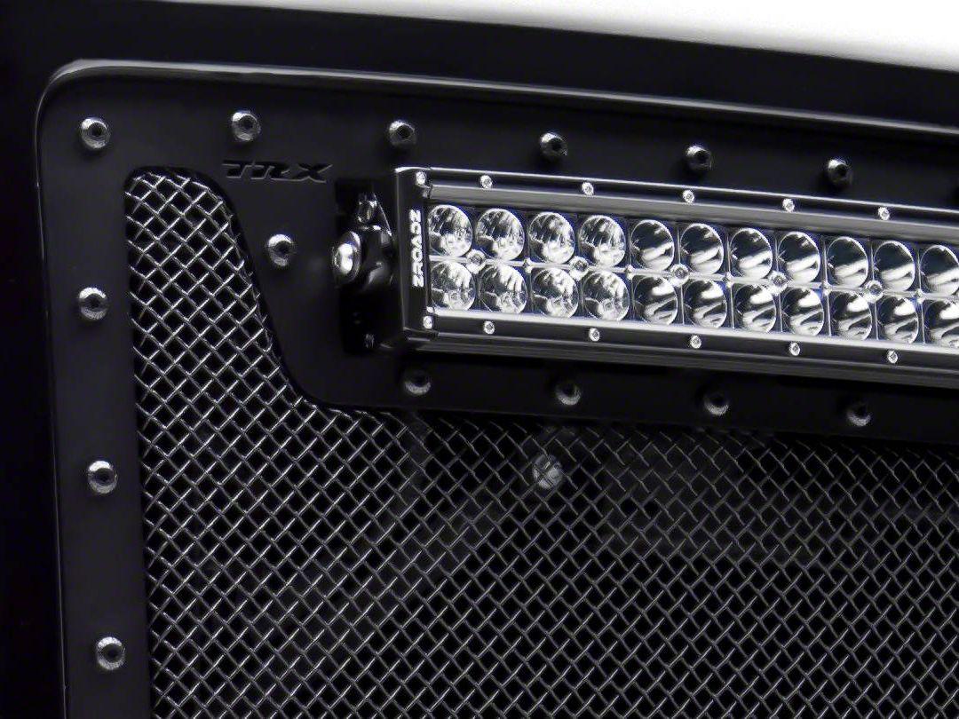 T-REX Torch Series Upper Grille Insert w/ 20 in. LED Light Bar - Black (07-13 Sierra 1500)