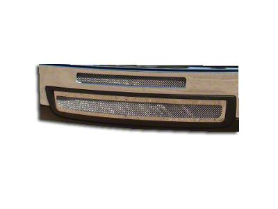 T-REX Upper Class Series Top Opening & Lower Air Dam Bumper Grille Inserts - Polished (07-13 Sierra 1500)