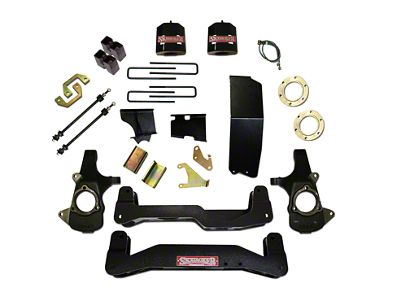 SkyJacker 6-7 in. Standard Suspension Lift Kit w/ Shocks (14-18 4WD Sierra 1500, Excluding Denali)