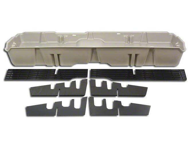 DU-HA Underseat Storage - Tan (07-13 Sierra 1500 Extended Cab, Crew Cab)