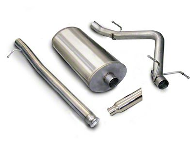 dB Performance by Corsa 3 in. Sport Single Exhaust System w/ Polished Tip - Side Exit (10-13 6.0L Hybrid Sierra 1500)