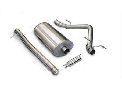 dB Performance by Corsa 3 in. Sport Single Exhaust System w/ Polished Tip - Side Exit (07-13 5.3L Sierra 1500)